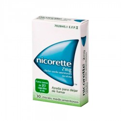 JOHNSON & JOHNSON Nicorette 2mg 30 Chicles