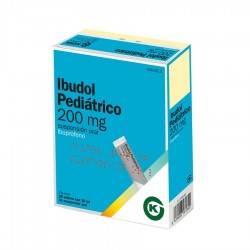 KERN PHARMA Ibudol Pediátrico 200mg 20 Sobres Suspensión Oral 10ml