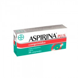 BAYER Aspirina Plus 500/50 mg 20 Comprimidos