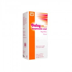 DALSY 20 mg/m Suspensión Oral 200 ml
