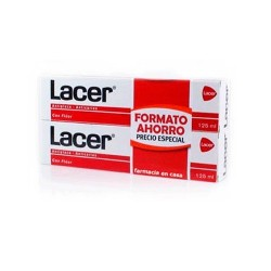 LACER Duplo Pasta Dental Anticaries Doble Ahorro