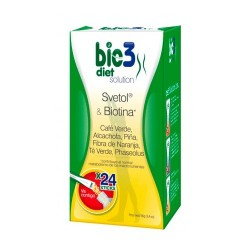 BIE3 DIET SOLUTION 24 STICKS SOLUBLES 4 g