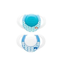 CHICCO Chupete Physio Ring Orthodontic Silicona +0m