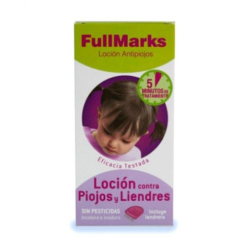 FULL MARKS 100 ML PEDICULICIDA W
