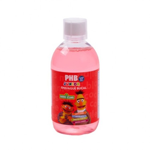 PHB JUNIOR ENJ BUCAL 500ML W
