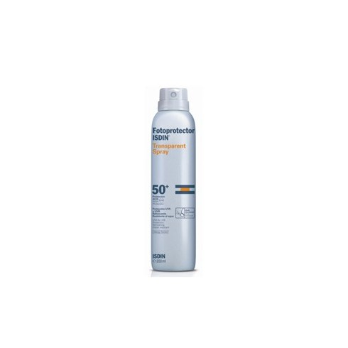 FOTOPROTECTOR ISDIN SPF-50 SPRAY TRANSPAR 200 ML W