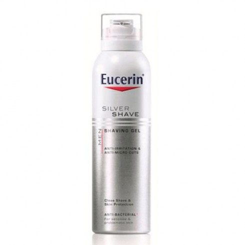EUCERIN MEN SILVER SHAVE GEL DE AFEITAR 150 ML W