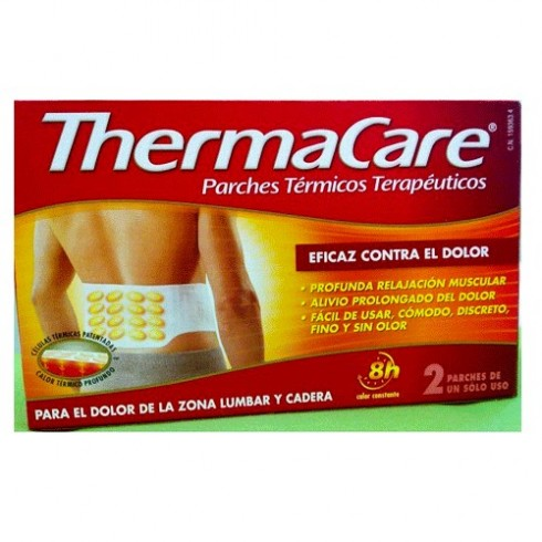 THERMACARE ZONA LUMBAR Y CADERA PARCHES TERMICOS W