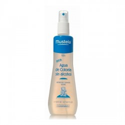 AGUA DE COLONIA BEBE SIN ALCOHOL MUSTELA 200 ML W