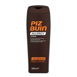 PIZ BUIN Allergy Loción Piel Sensible al Sol SPF 15 + 200 ml