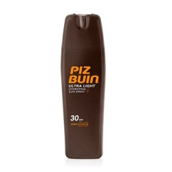 PIZ BUIN Ultra light Spray Solar Hidratante SPF30+ 200 ml