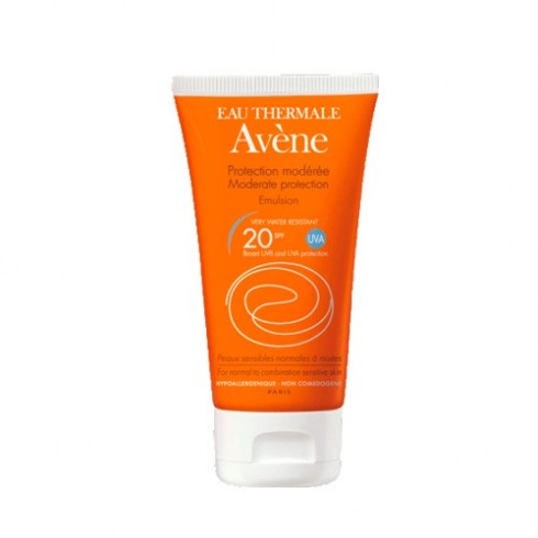 AVENE EMULSION SPF 20 FACIAL P/M 50ML W