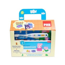 PACK PHB PETIT GEL DENTIFRICO INFANTIL + CEPILLO C/ REGALO PEPPA
