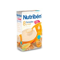 NUTRIBEN 8 CEREALES Y MIEL FRUTOS SECOS 600 G W