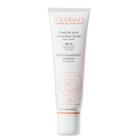 AVENE COUVRANCE MAQUILLAJE FLUIDO SPF 20 1 ENVASE 30 ml COLOR NATURAL