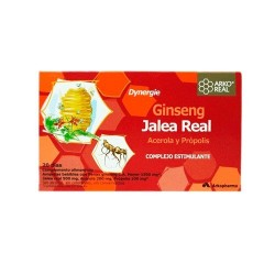 JALEA REAL GINSENG 20 AMPOLLAS W