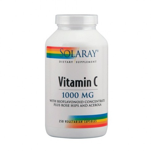 VITAMIN C 1000 MG SOLARAY W
