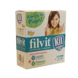 FILVIT KIT TRATAMENTO TOTAL LOCION + CHAMPU KIT 100 ML + 100 ML
