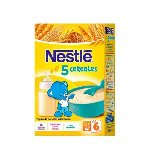 NESTLE 5 CEREALES 600 G. W