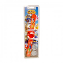 SUPER WINGS Pulsera Citronela 2 Recambios