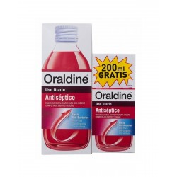 ORALDINE ANTISEPTICO PACK 400 ML +200 ML