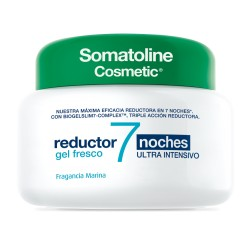 SOMATOLINE COSMETIC REDUCTOR 7 NOCHES GEL FRESCO ULTRA INTENSIVO 1 ENVASE 400 ml