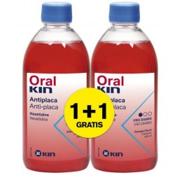 ORALKIN ENJUAGUE 500 ML. PACK 2X1