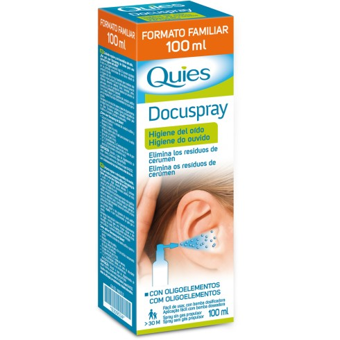QUIES DOCUSPRAY DUPLO 100ML